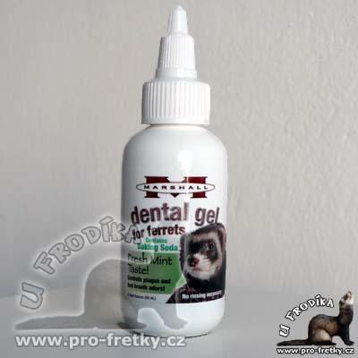 Dental gel pro fretky
