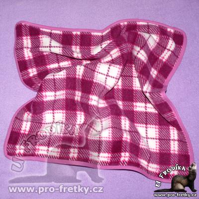 Fleece deka pro fretky