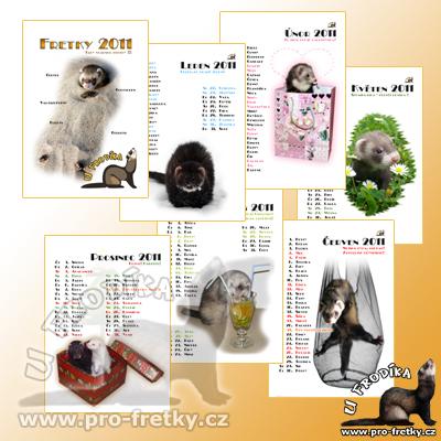 Frodíkův nástěnný kalendář 2011